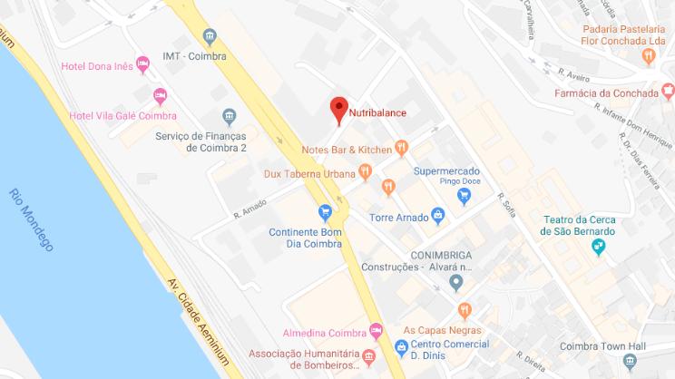 mapa clínica Funchal